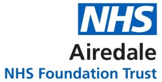 airedale nhs foundation trust parking portal